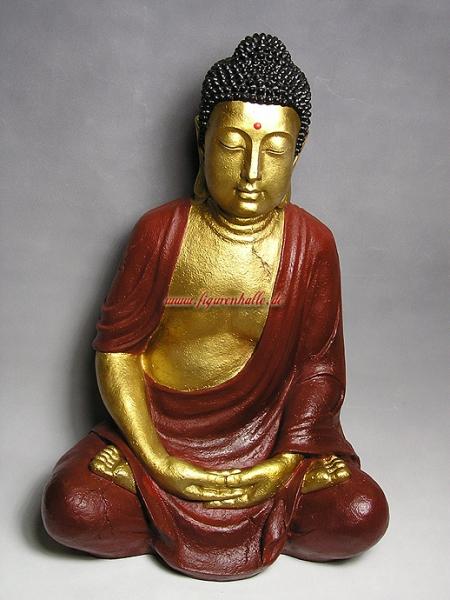 figurenhalle buddha figur f r haus und garten kaufen. Black Bedroom Furniture Sets. Home Design Ideas